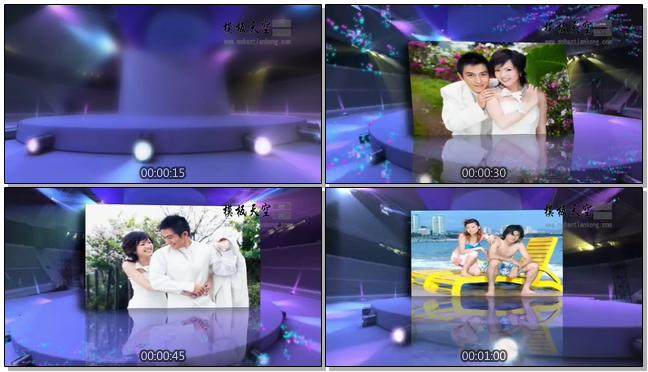 11010022婚礼倒计时舞台相册展示
