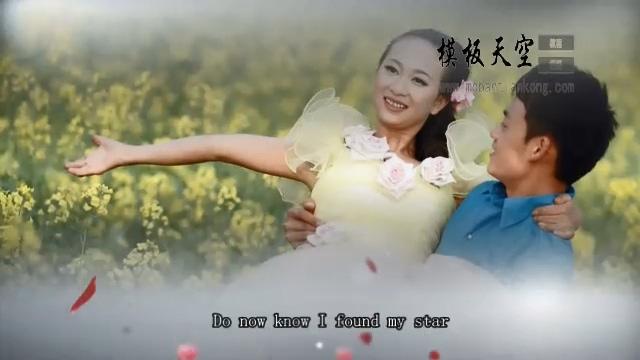 11010018婚礼模板