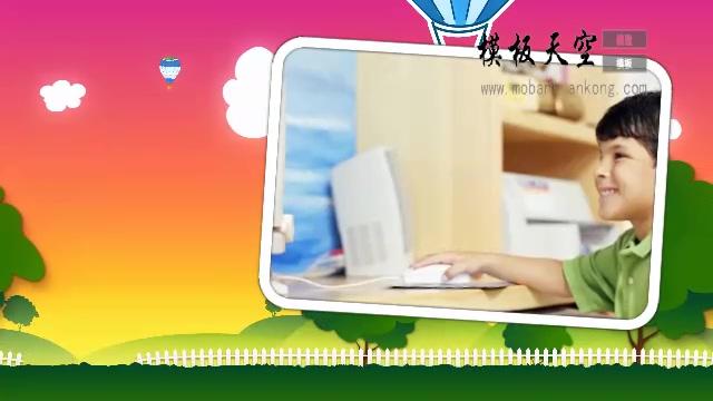 11021013热气球相册小模板