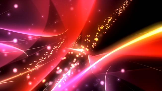 炫彩动感光束背景视频素材