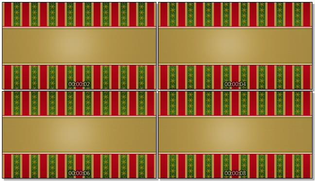 圣诞节条纹背景视频素材