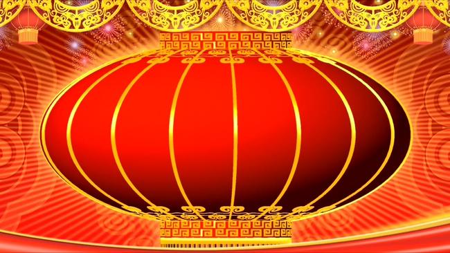 红色大红灯笼背景视频素材