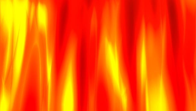 金色红色火焰背景视频素材