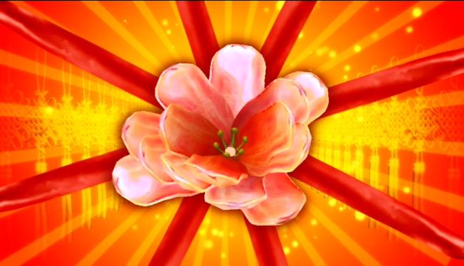 欢聚一堂春节喜庆背景音乐视频素材
