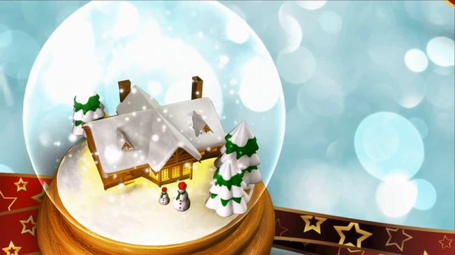圣诞球素材背景视频素材