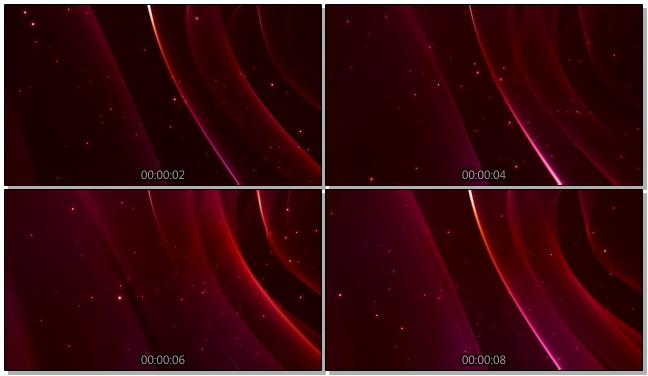 紫色简洁光点背景视频素材
