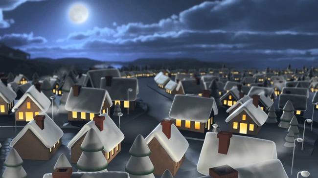 圣诞主题音乐背景视频素材