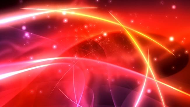 炫彩光束背景视频素材2
