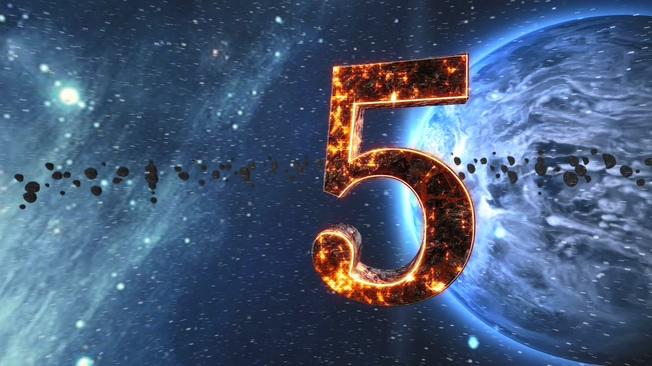 宇宙星空倒计时背景视频素材