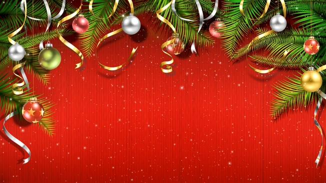 圣诞节动态背景视频素材