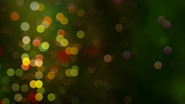 圣诞气氛粒子背景视频素材