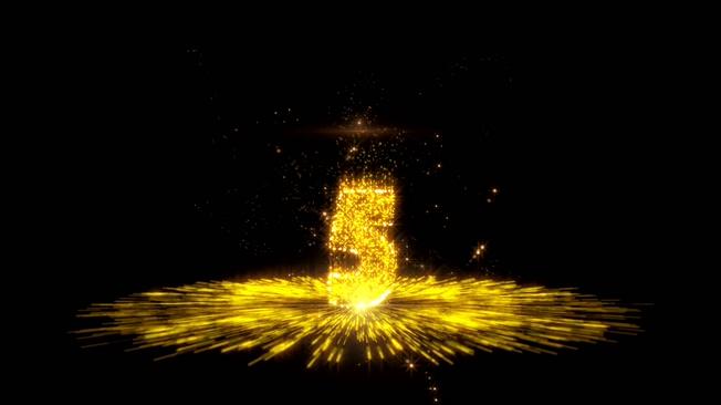 震撼开场粒子光线10秒倒计时舞台晚会背景视频素材