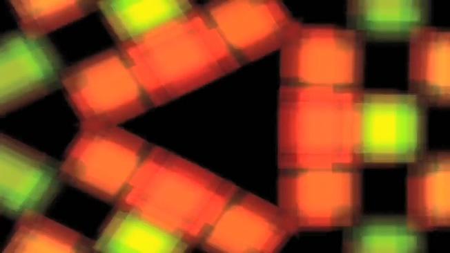 动感炫酷的彩色迷幻灯光闪烁视频素材