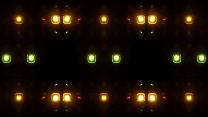 震撼动感的酒吧灯光闪烁视频素材