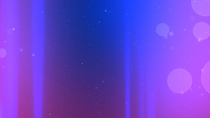 紫色星空光点粒子视频素材