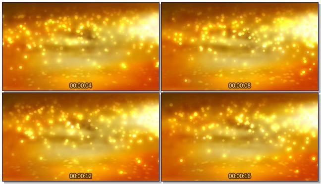 金色庆典视频素材