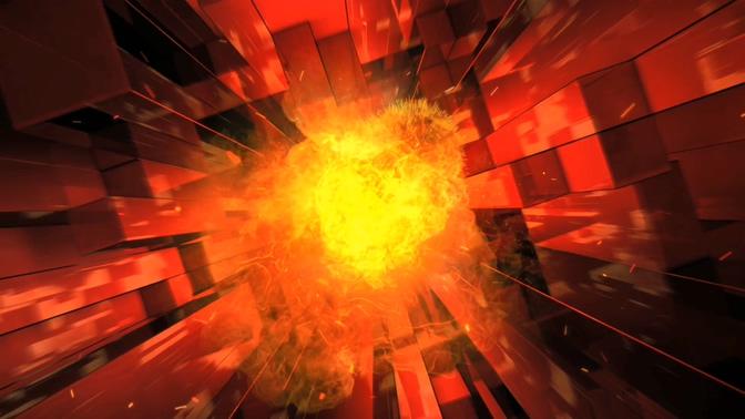 3D火焰特效视频素材