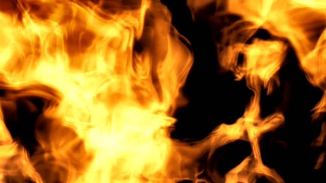 火焰飞舞的视频素材
