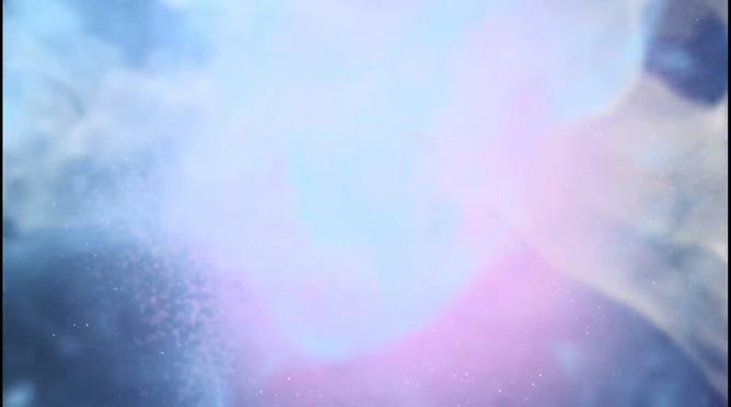 唯美梦幻的紫色烟雾晚会开场视频素材