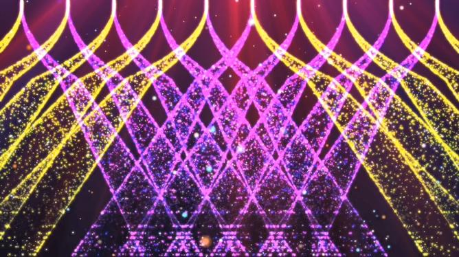 炫彩粒子光束视频素材