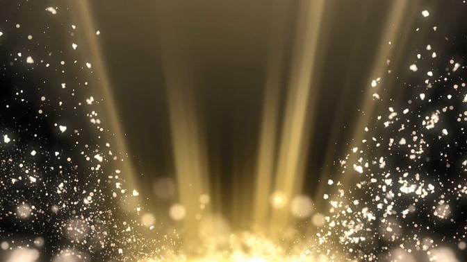 白色光线光点粒子视频素材