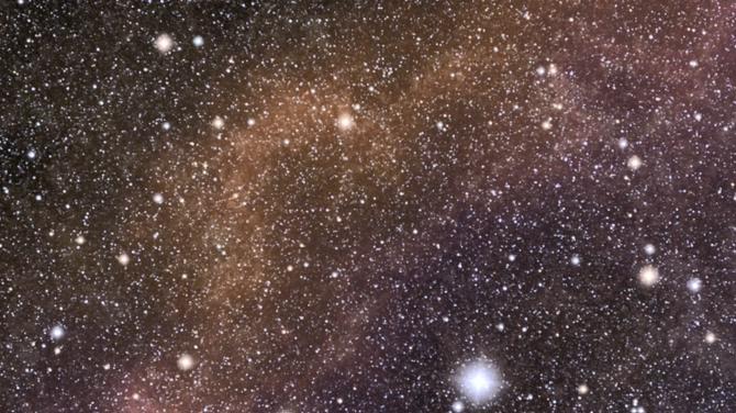 动感唯美的星空粒子飘落视频素材