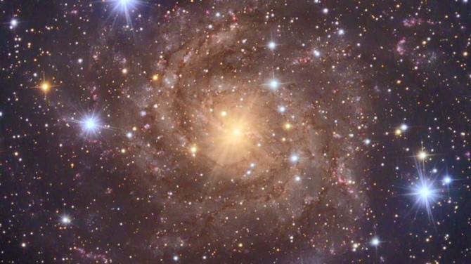 唯美梦幻的星空粒子旋转视频素材