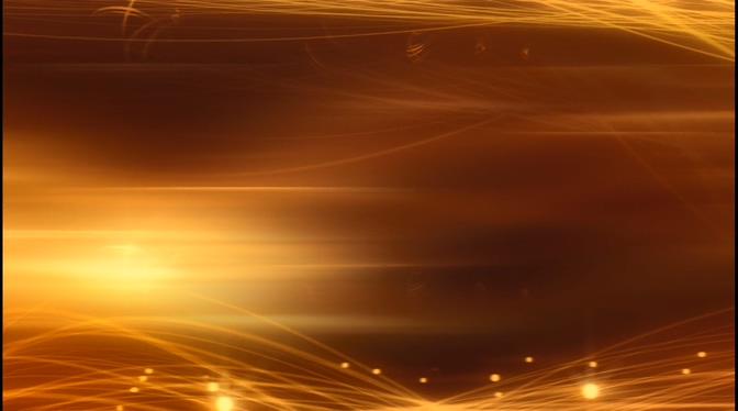 金色线条光晕视频素材