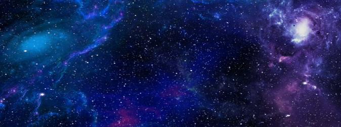 浪漫唯美的宇宙星系粒子视频素材