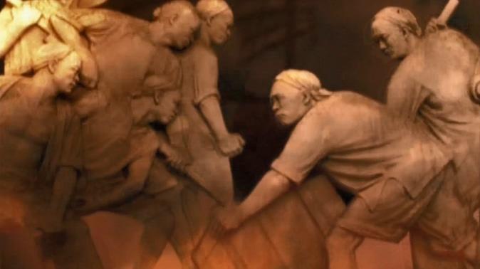 人民英雄抗日战争中的视频素材
