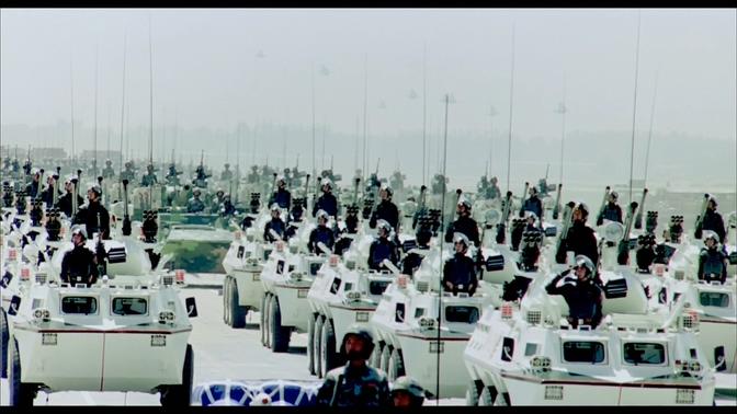 记录中国军事科技快速发展的视频素材