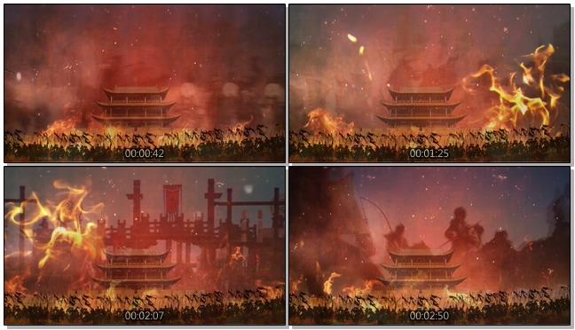 令人热血沸腾的古代战争视频素材