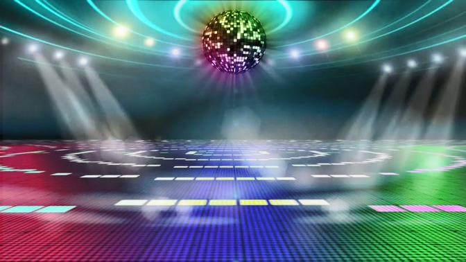 绚丽舞台灯光LED背景视频素材
