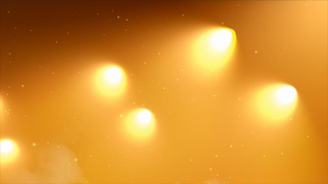 婚礼聚光粒子追光光效辉煌大气灯光模板