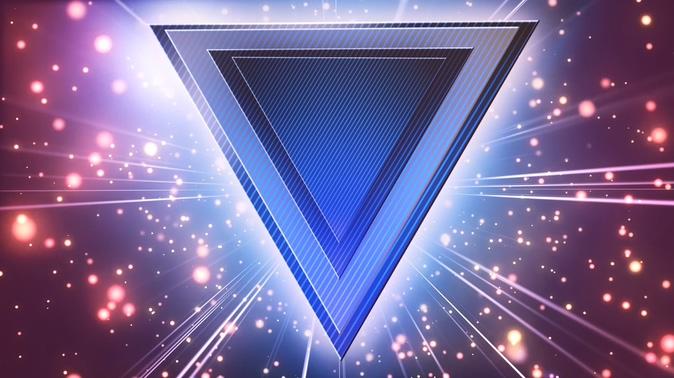 电子酒吧VJ粒子光效科技3D立体酷炫时尚潮流灯光模板
