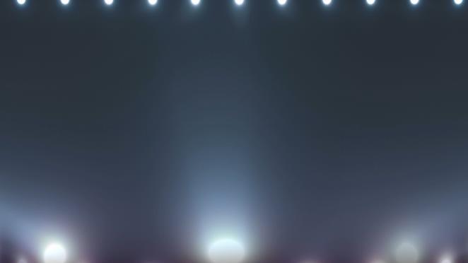 简洁灯光秀视频素材