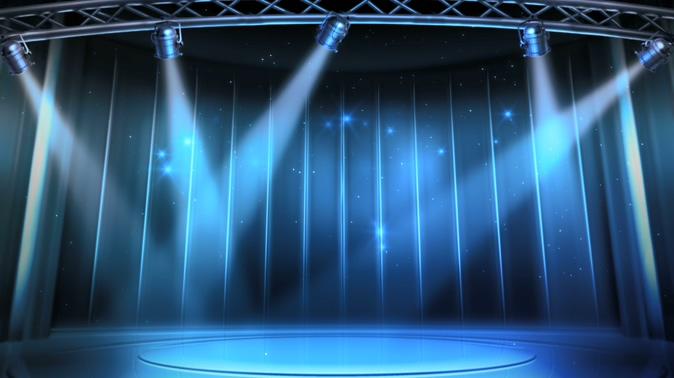 婚礼舞台背景素材灯光秀光效视频素材