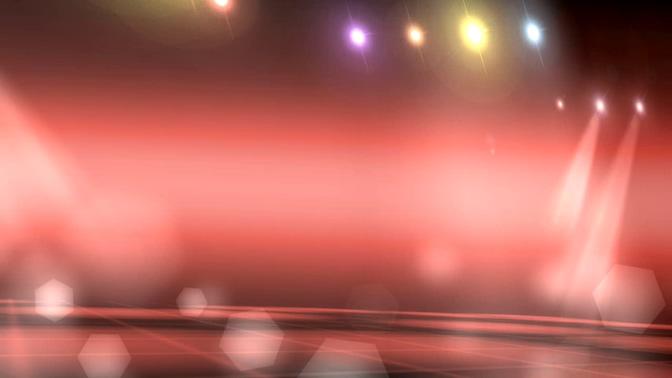 舞台灯光变幻视频素材