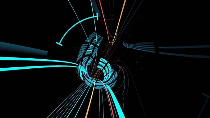 121410078空间隧道穿梭(有音乐)