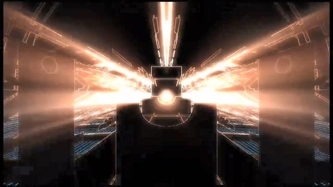 121410087金属粒子光线质感(有音乐)