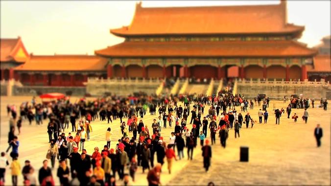 北京故宫美景及生活方式实拍视频