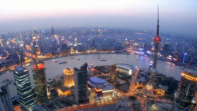 各大城市风貌及出行方式的实拍视频