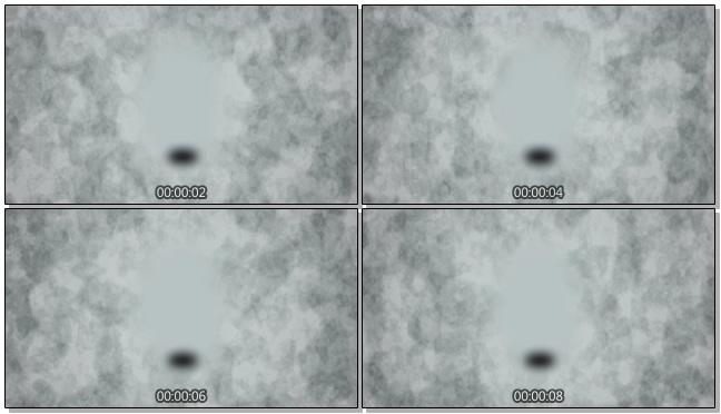 神秘水墨黑点的视频素材