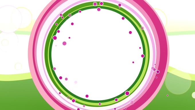 浪漫唯美的粉红色颗粒边框视频素材