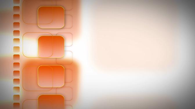 唯美浪漫的粉红色方形移动边框视频素材
