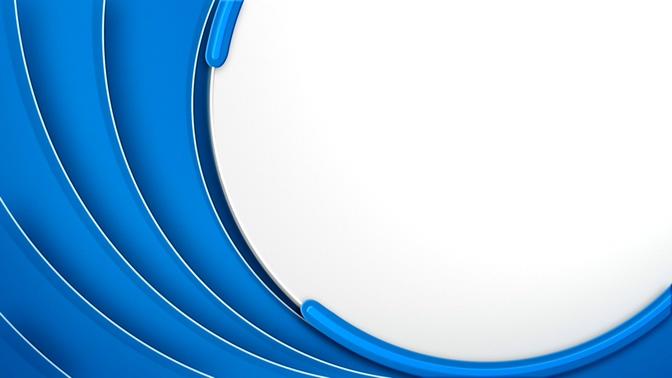 蓝色弧形旋转边框的视频素材