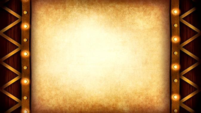 浪漫唯美的灯光移动边框视频素材