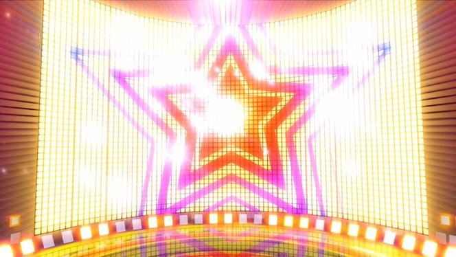 浪漫唯美的舞台灯光闪烁视频素材