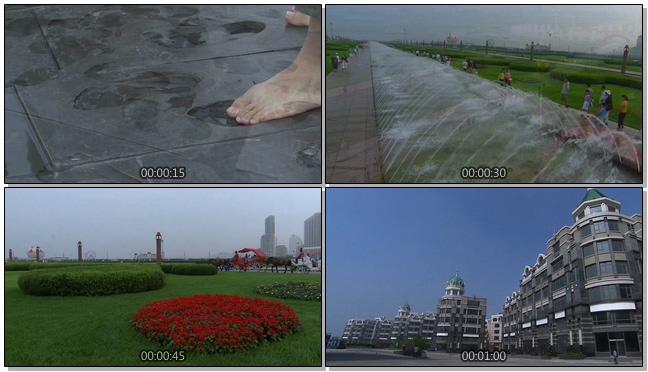 140510052大连风景+星海广场+游客观光