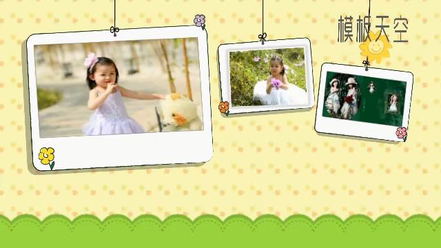 宝宝电子相册视频模板之爱笑的孩子